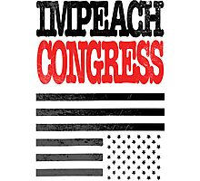 Impeach Congress Photographic Print