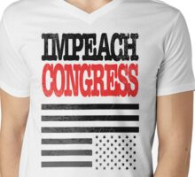 Impeach Congress Mens V-Neck T-Shirt