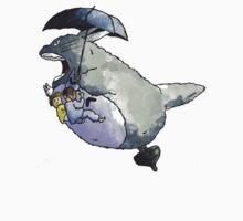Totoro-Watercolor One Piece - Long Sleeve