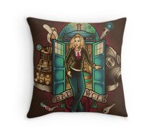 I am the Bad Wolf Throw Pillow