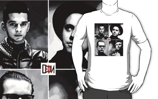 Depeche Mode :  101 Official t-shirt  by Luc Lambert