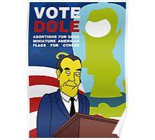 Vote Dole Poster
