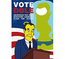 Vote Dole Photographic Print