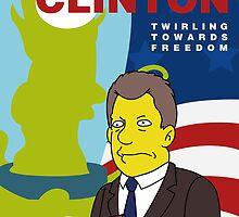 Vote Clinton by JamieIII