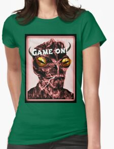 game on Womens Fitted T-Shirt