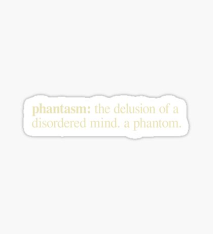 Phantasm Sticker