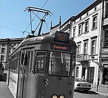 Polish Tram by Alexanderphotos