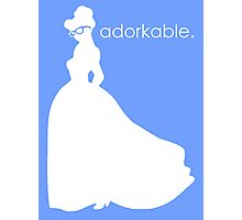 Adorkable Girl Photographic Print