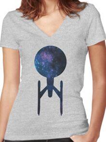 Strange New Worlds Women's Fitted V-Neck T-Shirt