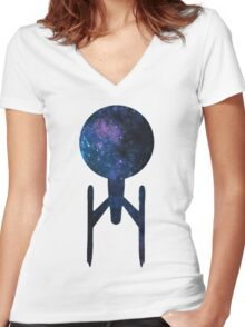 Strange New Worlds Women's Fitted V-Neck T-Shirt