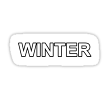 The Last of Us- WINTER Sticker
