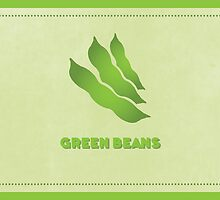 Green Beans (Color Palate) by Janna Barrett
