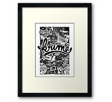 Krime Lifestyle  Framed Print