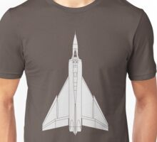 Avro CF-105 Arrow Unisex T-Shirt