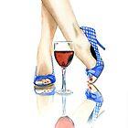 Wine + Heels by Anthony Billings