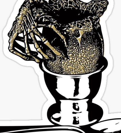 Alien Egg Sticker