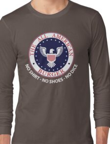 All American Burger (No Shirt-No Shoes-No dice) T-Shirt