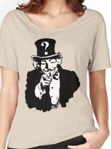 Anonymous Needs You Women's Relaxed Fit T-Shirt