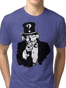 Anonymous Needs You Tri-blend T-Shirt