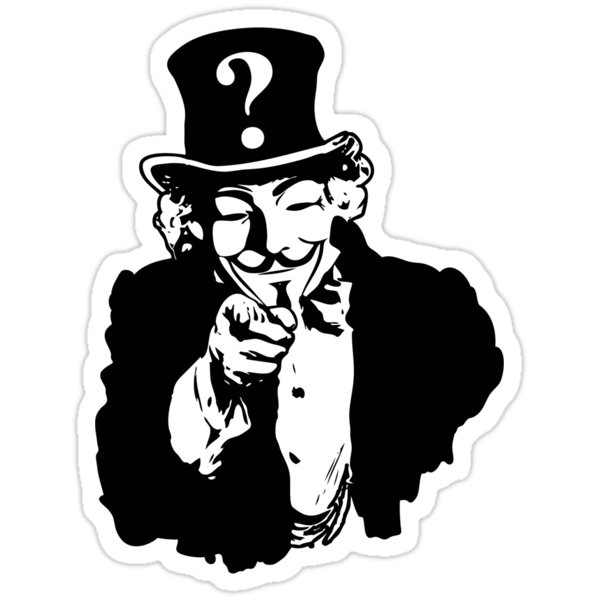 Anonymous Needs You by anfa