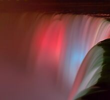 Silky Falls of Pink by JamesA1