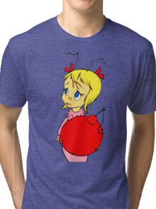Cindy Lou Who Tri-blend T-Shirt