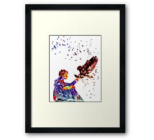 Harry Potter Eagle Owl Framed Print