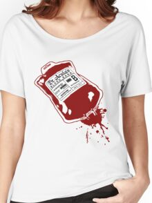 Dr. Acula's Blood Bank Women's Relaxed Fit T-Shirt