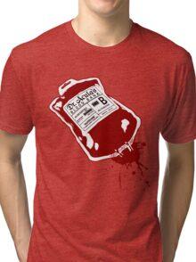 Dr. Acula's Blood Bank Tri-blend T-Shirt