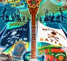 KENNY CHESNEY SPREAD LOVE 2016 TOUR Sticker