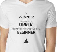 Winning Perspective Mens V-Neck T-Shirt