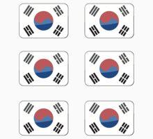 Flags of the World - Republic of Korea x6 by CongressTart