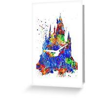 Harry Potter Hogwarts Castle Greeting Card