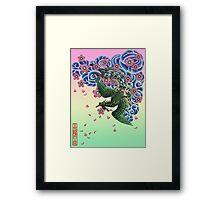Tattoo Fenghuang Framed Print