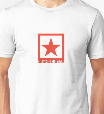 Orange Star Unisex T-Shirt