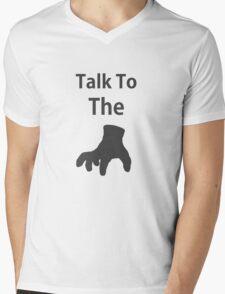 Talk To The Thing Mens V-Neck T-Shirt