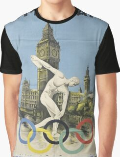 Vintage poster - London Olympics Graphic T-Shirt