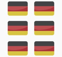 Flags of the World - German x6 by CongressTart