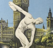 Vintage poster - London Olympics Sticker
