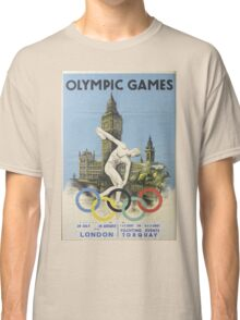 Vintage poster - London Olympics Classic T-Shirt
