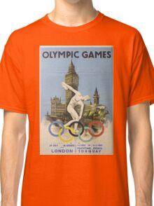 Vintage poster - London Olympics Classic T-Shirt