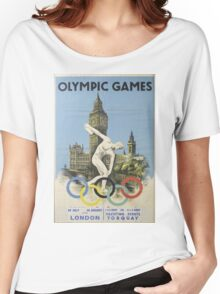 Vintage poster - London Olympics Women's Relaxed Fit T-Shirt