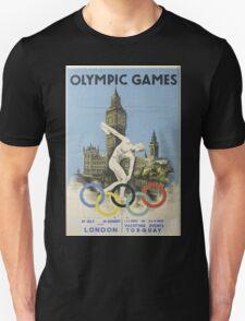 Vintage poster - London Olympics Unisex T-Shirt