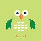Green & Green Owl by Adamzworld