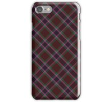 Brown/Pink Tartan iPhone Case/Skin