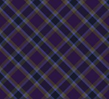 Purple/Gold Tartan by GreenSpeed