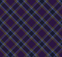 Purple/Gold Tartan by GreenSpeed