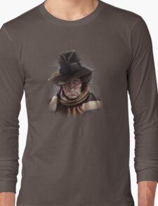 Fourth Doctor - Tom Baker Long Sleeve T-Shirt