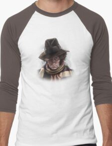 Fourth Doctor - Tom Baker Men's Baseball ¾ T-Shirt