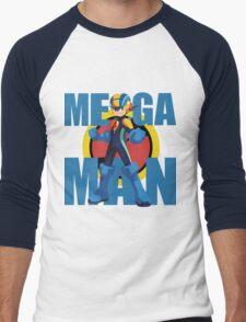 Mega Emblem Men's Baseball ¾ T-Shirt